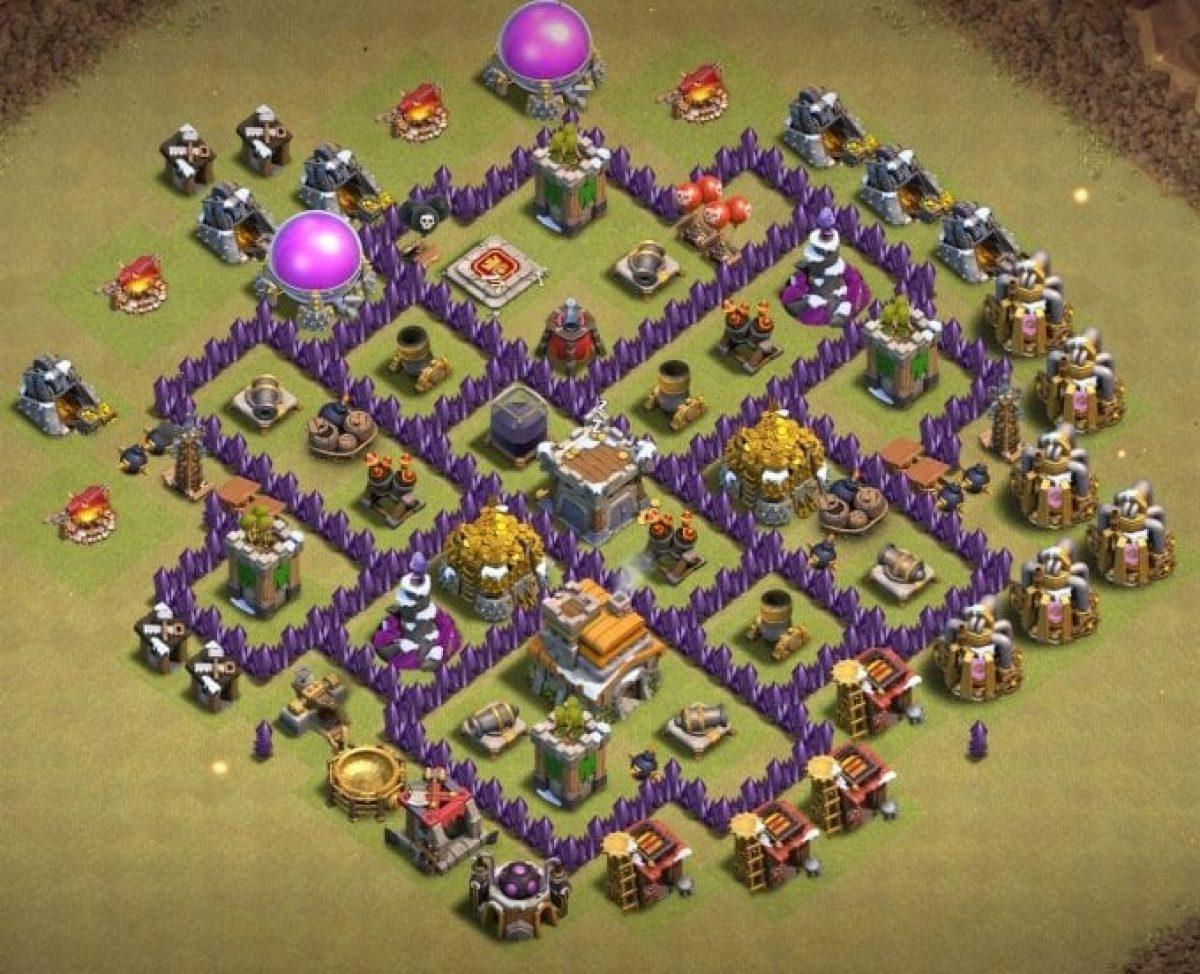 Best Th7 War Base 2020 14 Bases Copy Link Bestcocbases