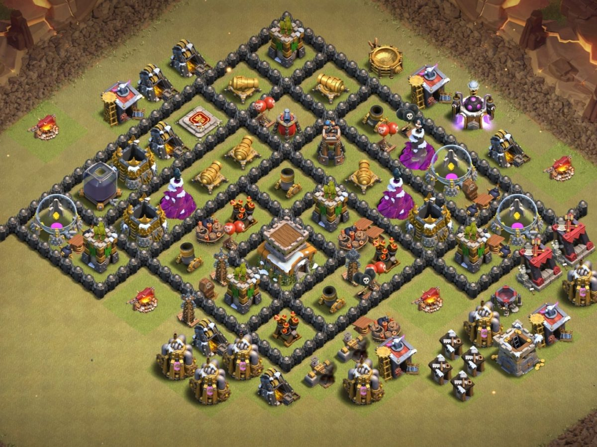 Th8 War Base 2021 With Base Copy Link 11 Bases Bestcocbases