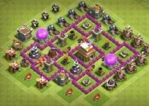 In this post, I will share the best Th6 hybrid base of COC, along with this I will also share a link by which you can easily copy the base.