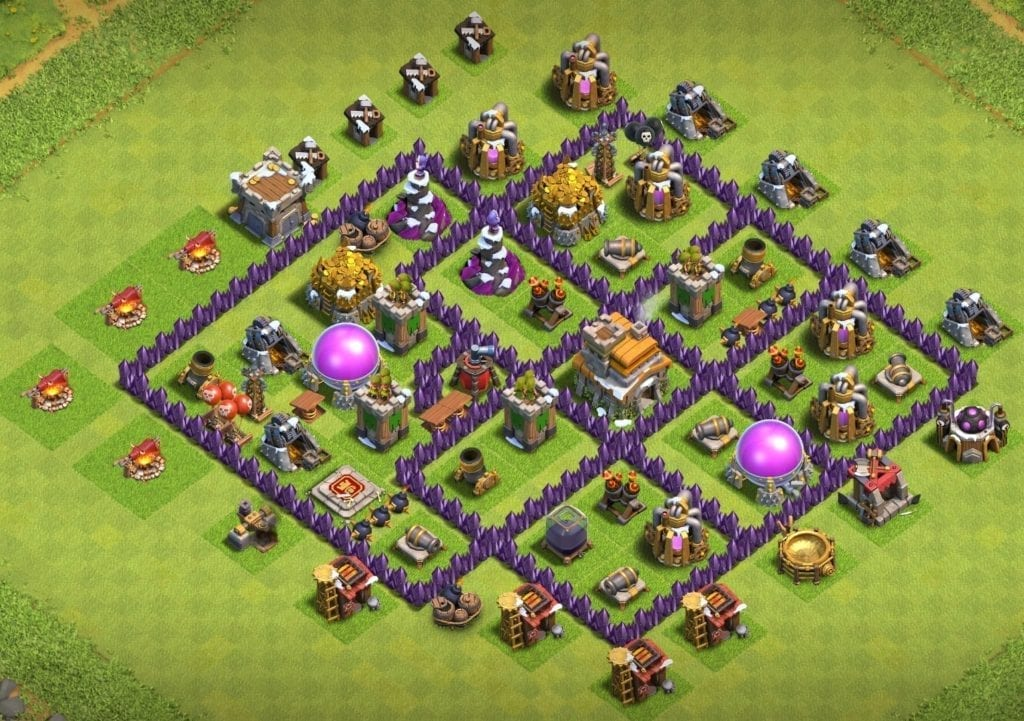 th7 trophy layout