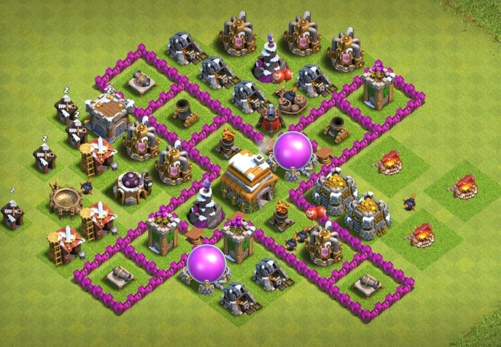 town hall 6 farming base copy link