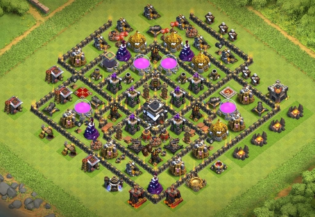 town hall 9 farming layout link