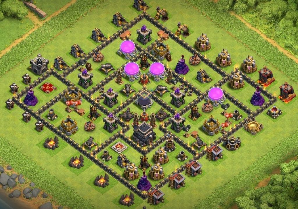 Th9 farming base