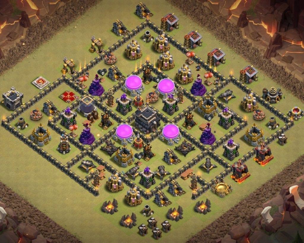 Town Hall war layout