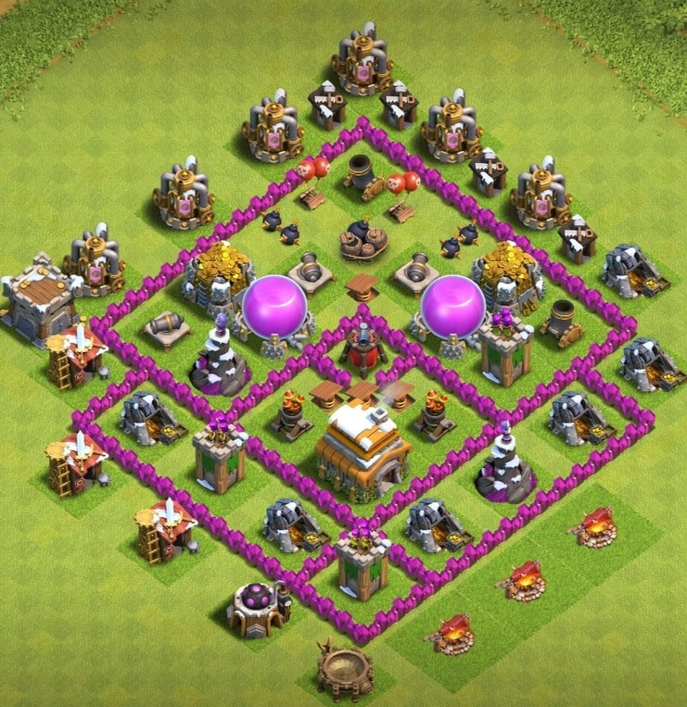 th6 defense base