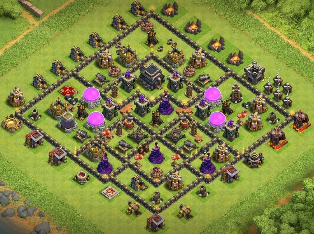th9 trophy base copy link