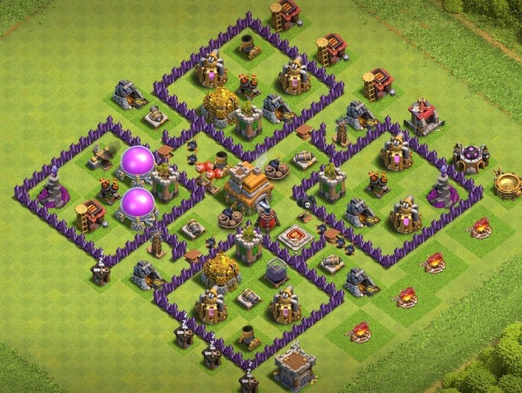 th7 farming base