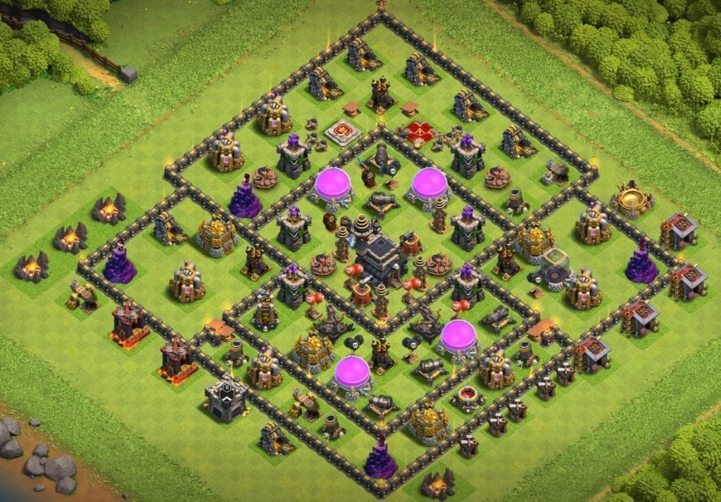 th9 defense base
