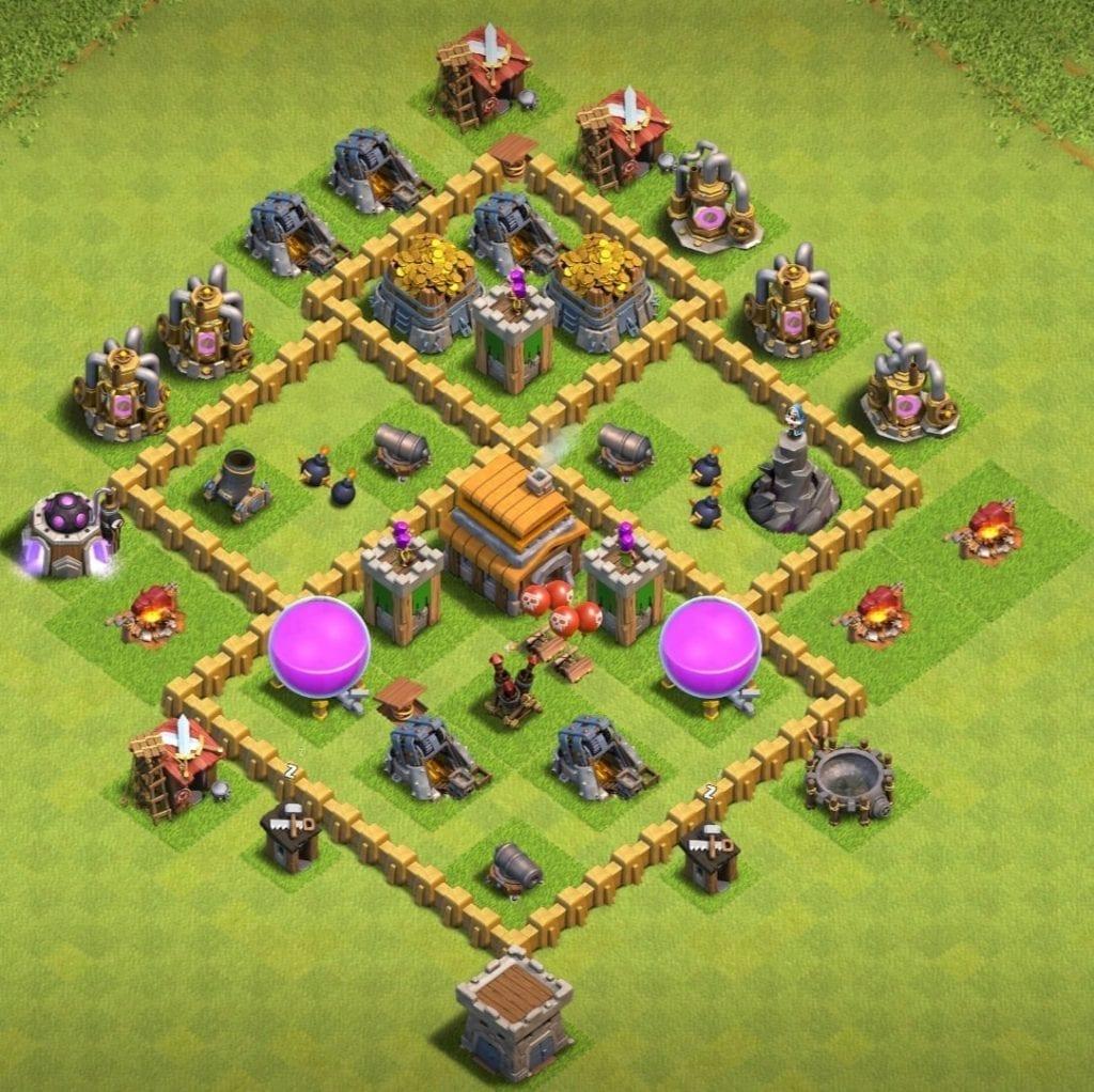 th5 trophy pushing base