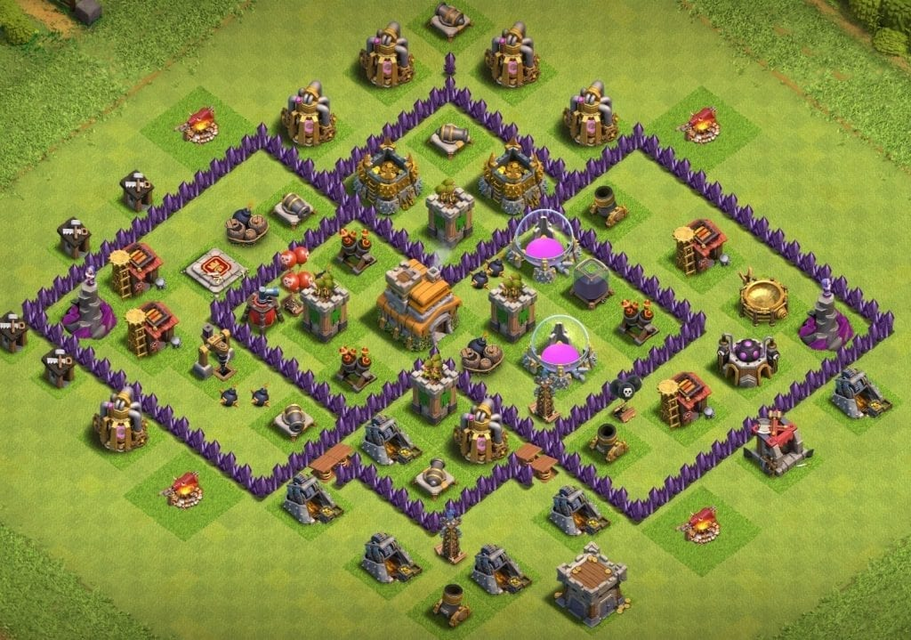 th7 trophy pushing layout