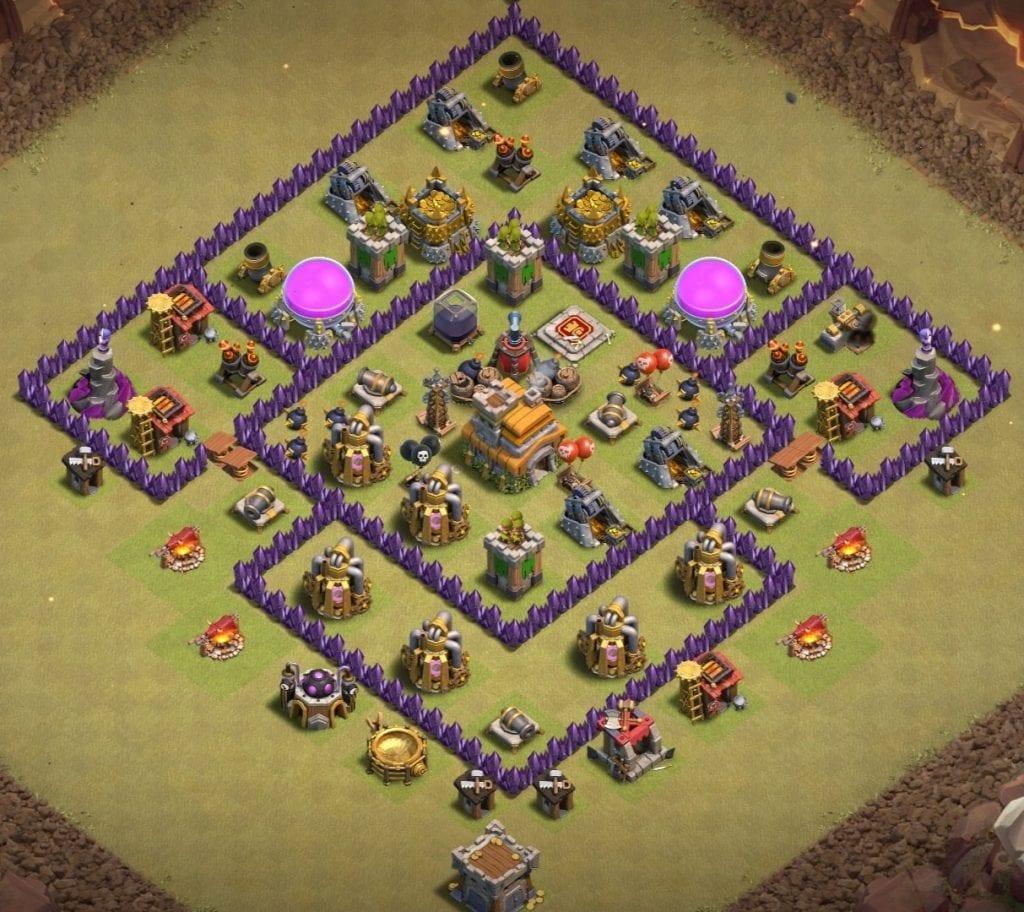 Th7 war layout anti everything
