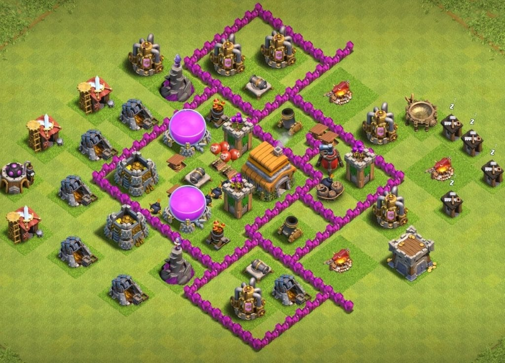 Town Hall 6 trophy Link