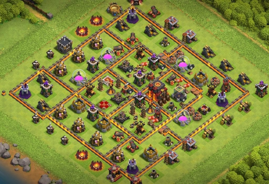 Town Hall 10 base link