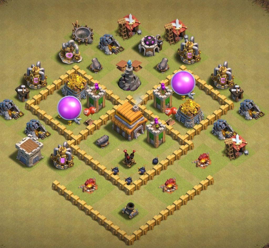th5 war layout