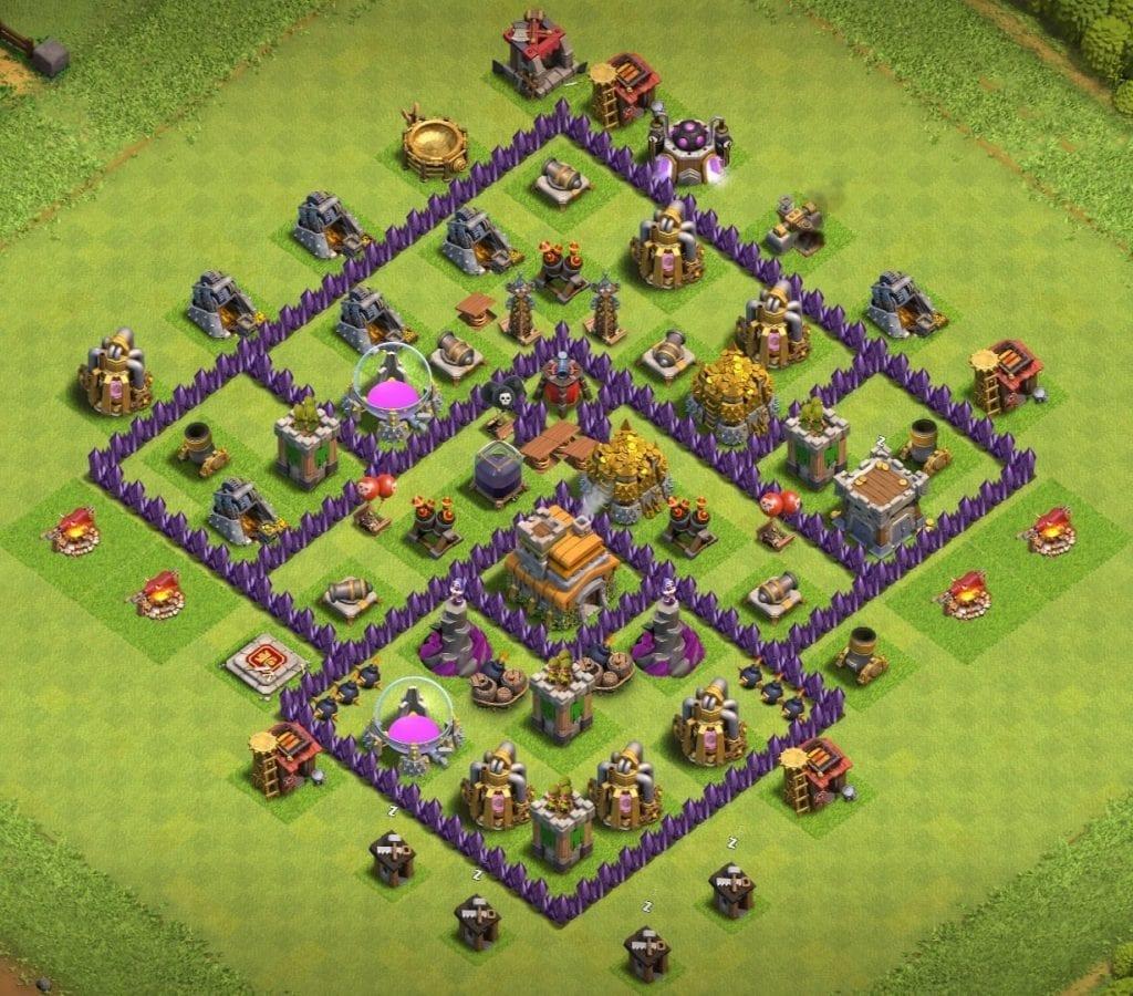 Town Hall 7 base
