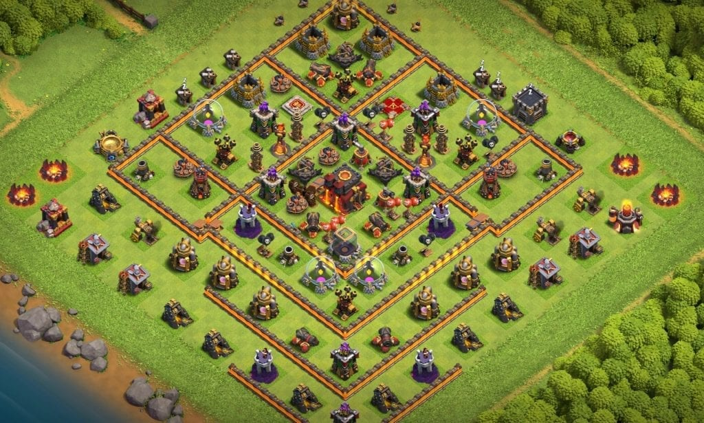 th10 defense base