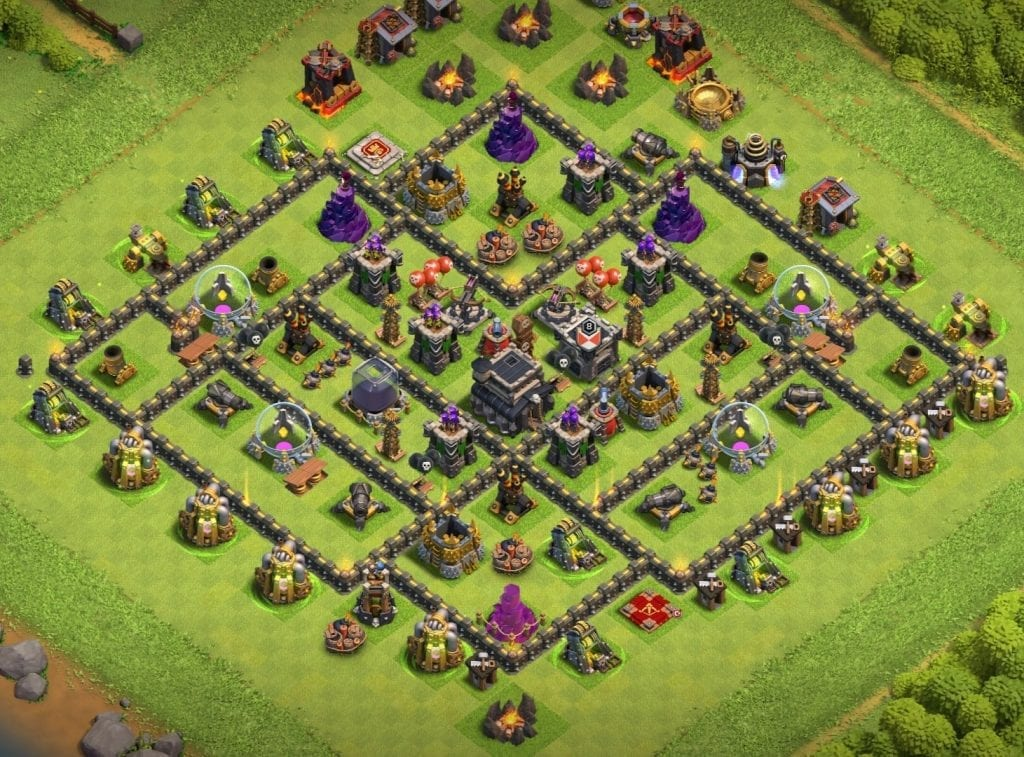 th9 base anti 2 star layout