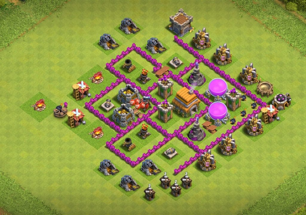 Town Hall 6 Base