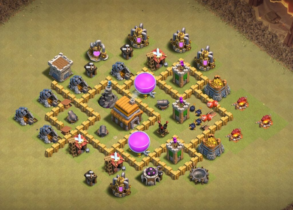 Th5 War Layout undefeated base