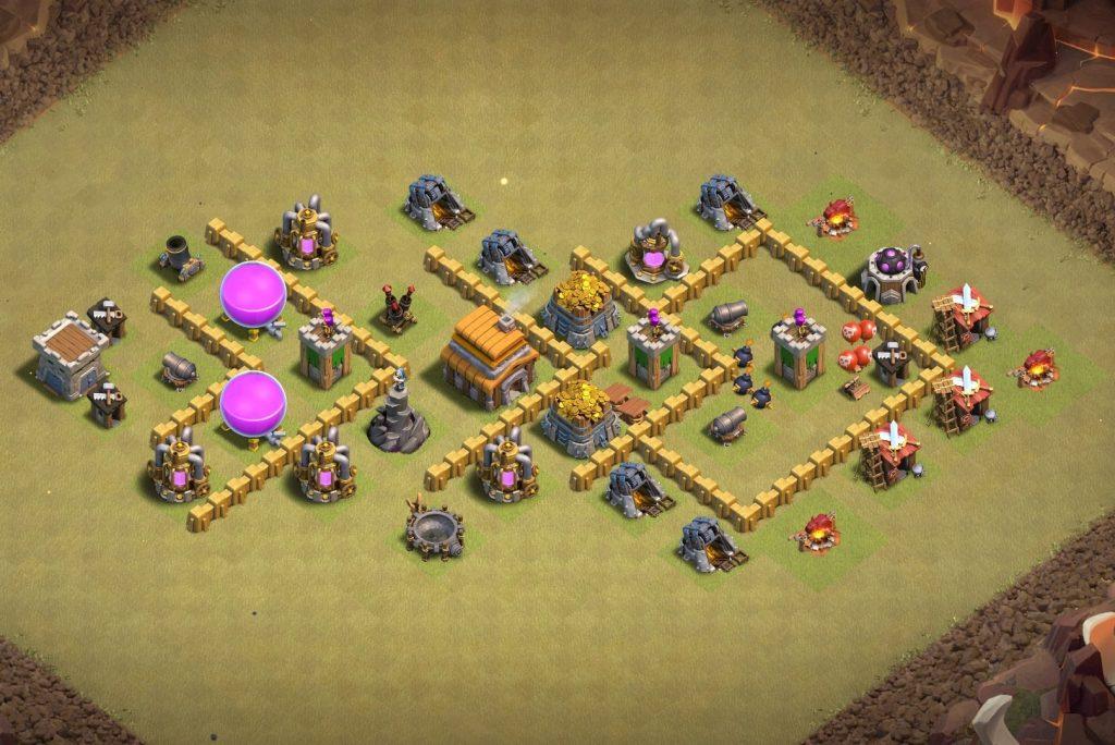 Th5 War Layout Base