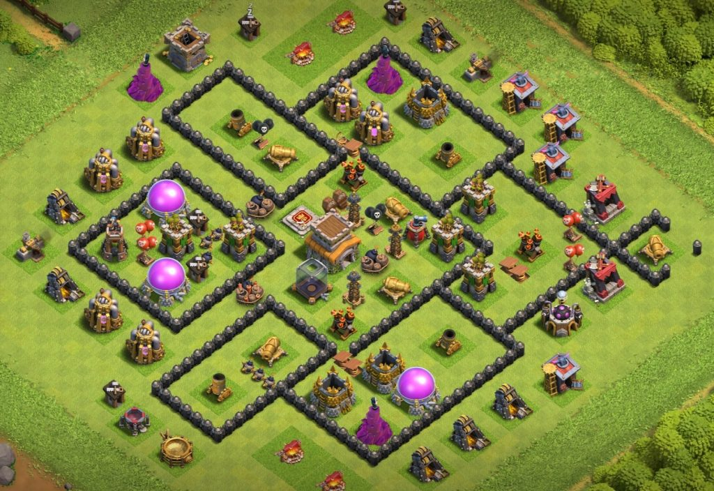 Th8 base layout anti everything