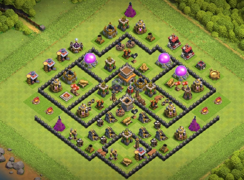 Th8 anti air layout
