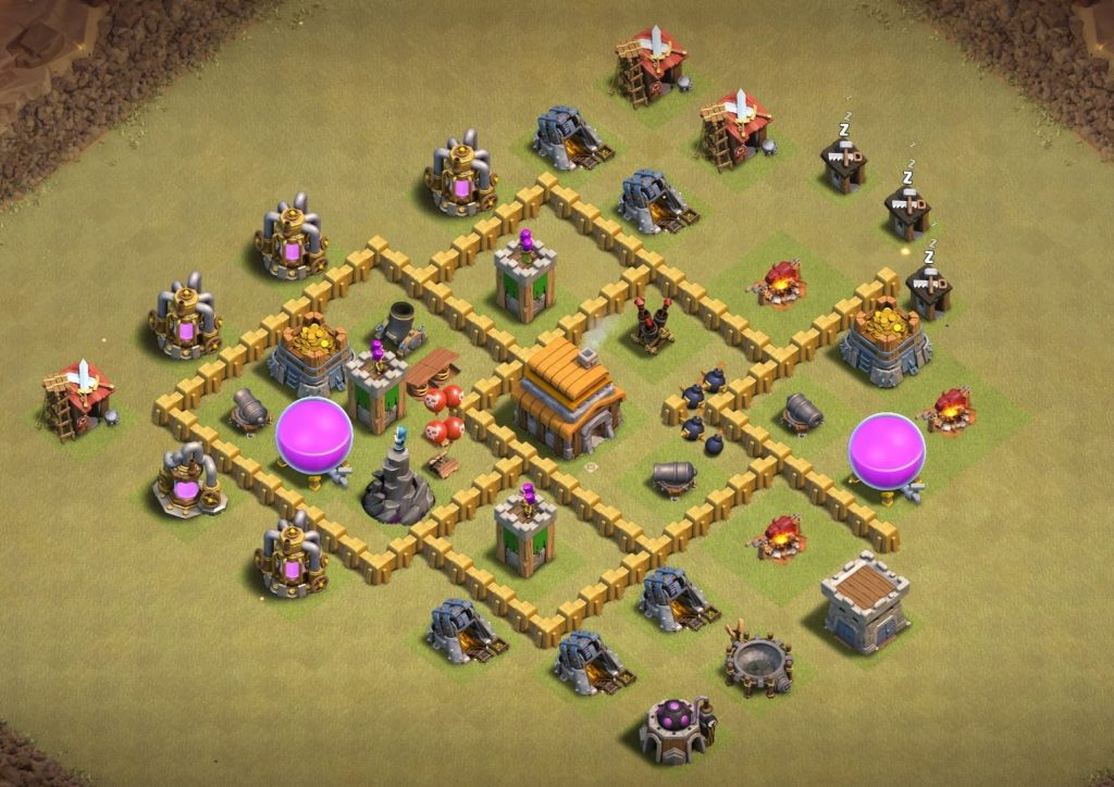 undefeated Th5 war base