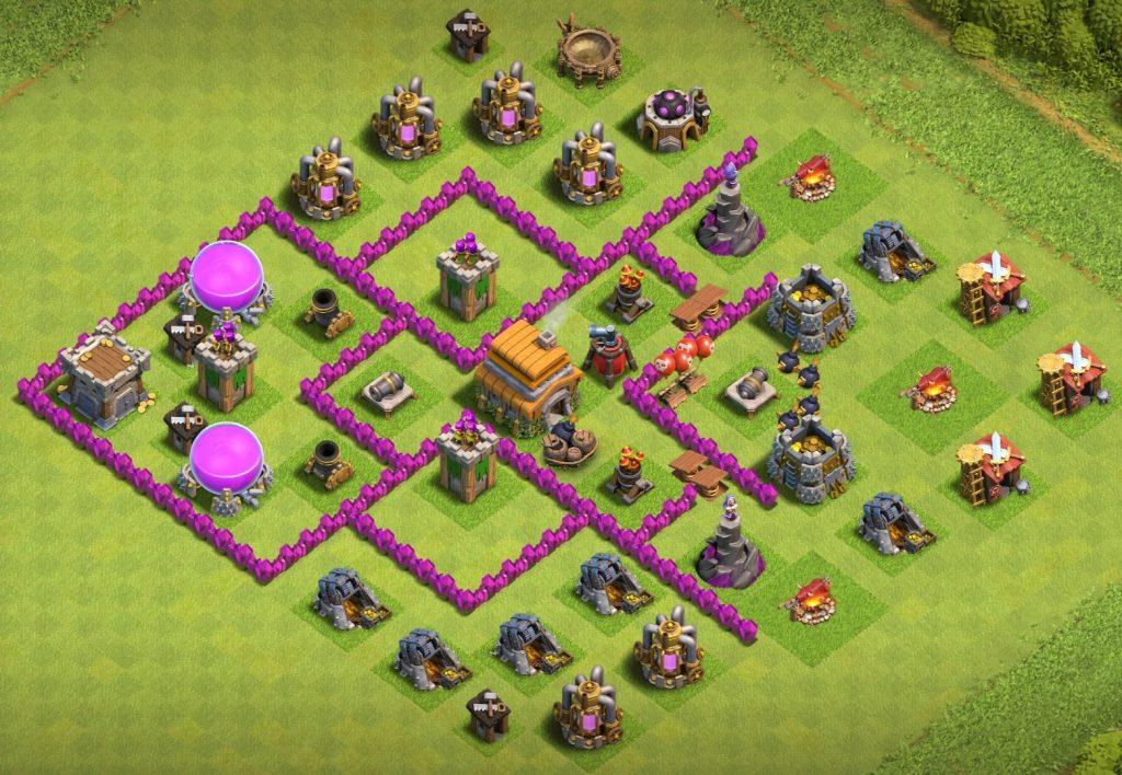 Town-Hall-6-base-anti-air-troop