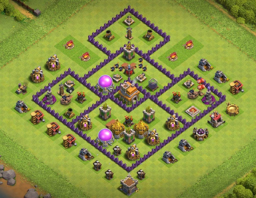 Th7 farming Base link