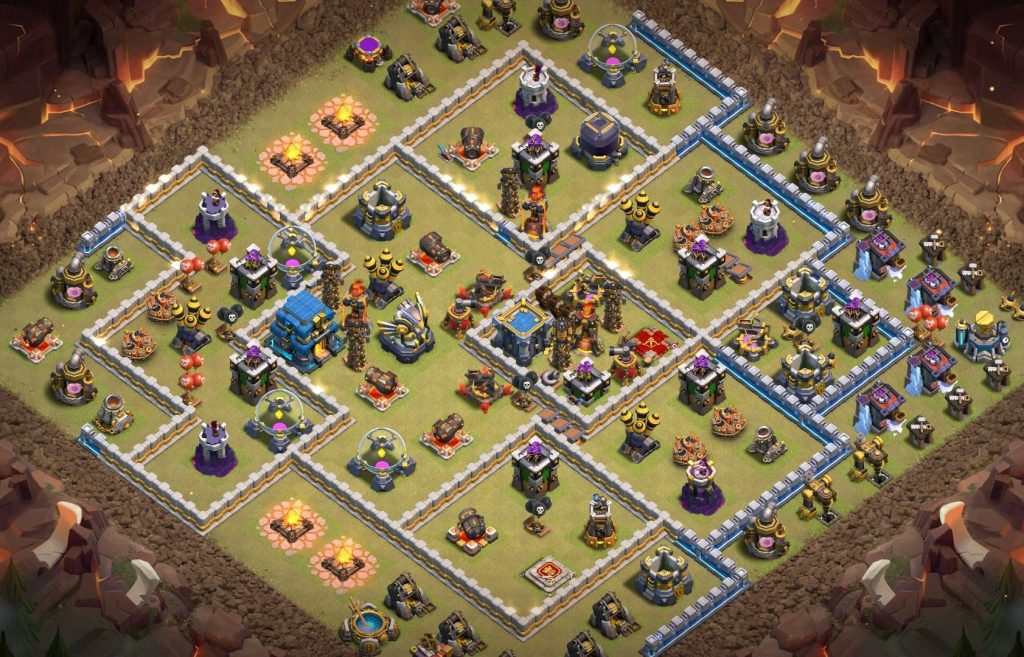 Town hall 12 war layout link