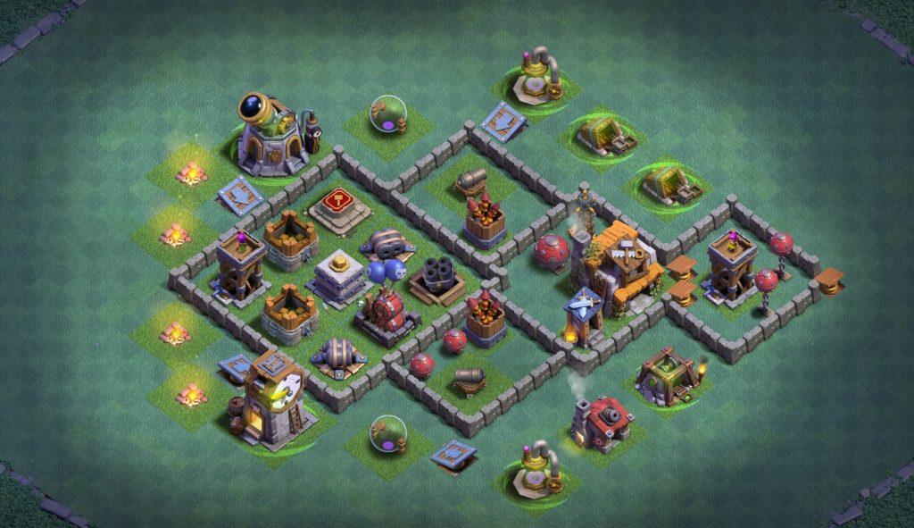 Builder Hall 5 Base