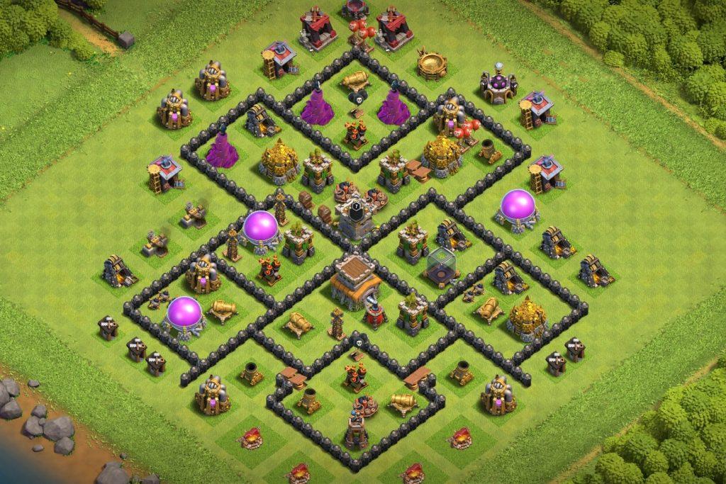 Good Th8 defense base