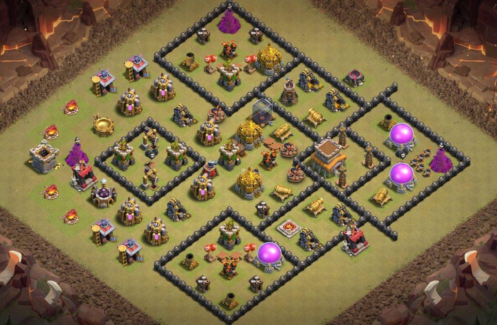 Best town hall 8 war base