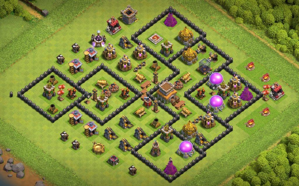 Good th8 farming base