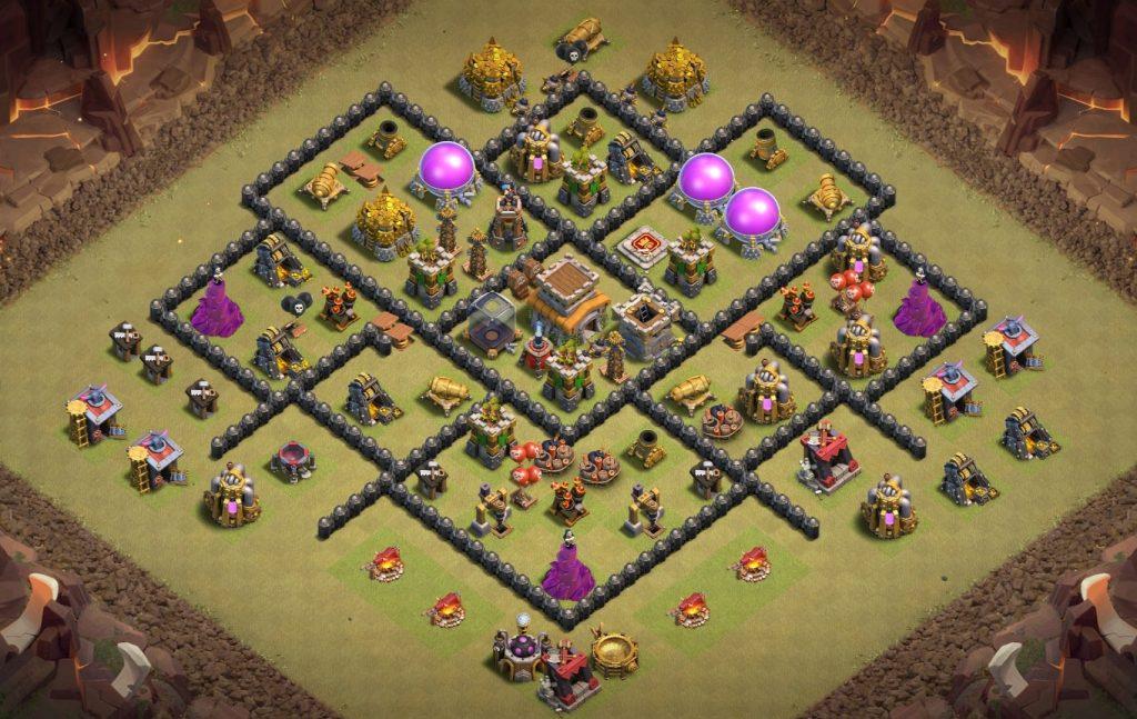 good th8 war base