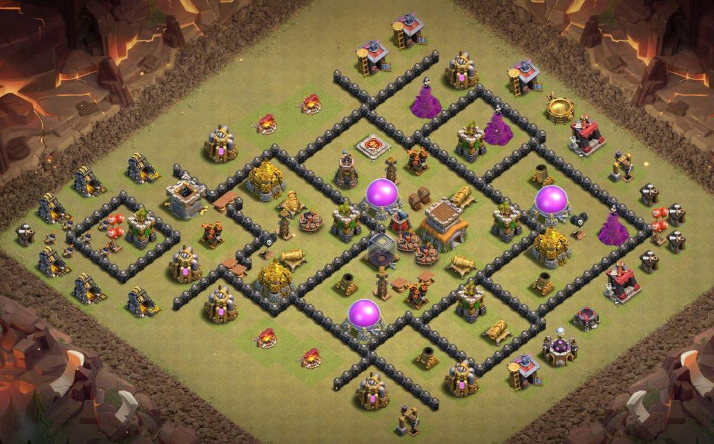 TH8 war layout anti everything